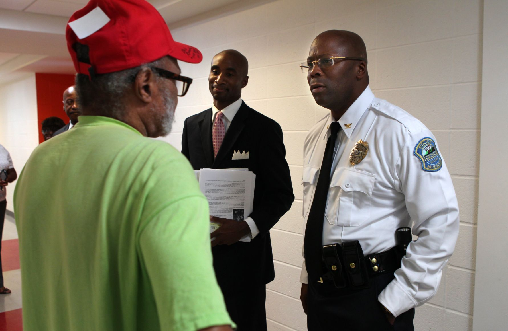 Ferguson names new interim police chief