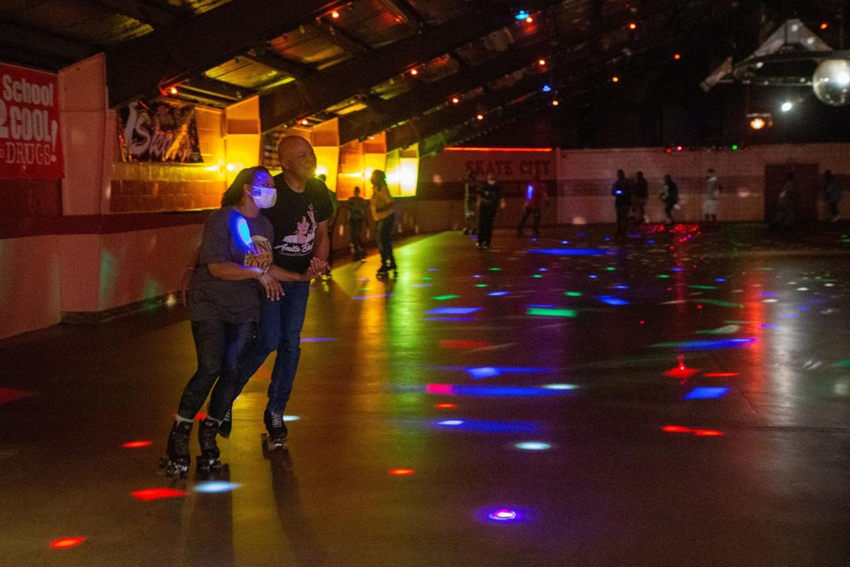 Monday night skate at Skate City in East St. Louis