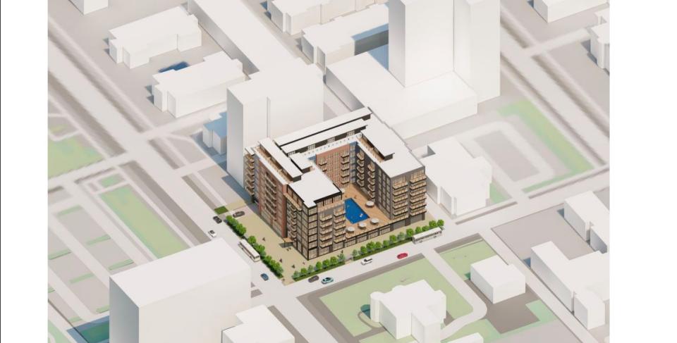 4490 Lindell Blvd renderings