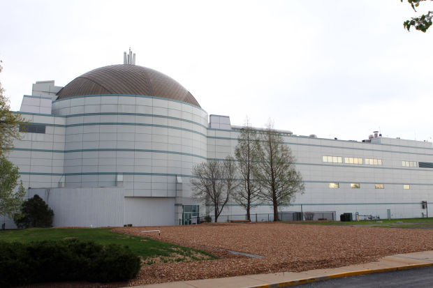 West side of St. Louis Science Center