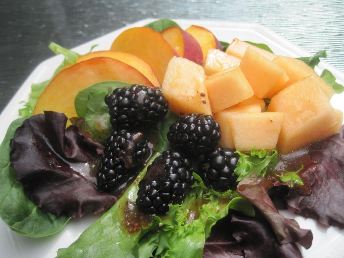Special Requst Eckert's Summer Fruit Salad with Poppyseed Dressing for publication July 15, 2010