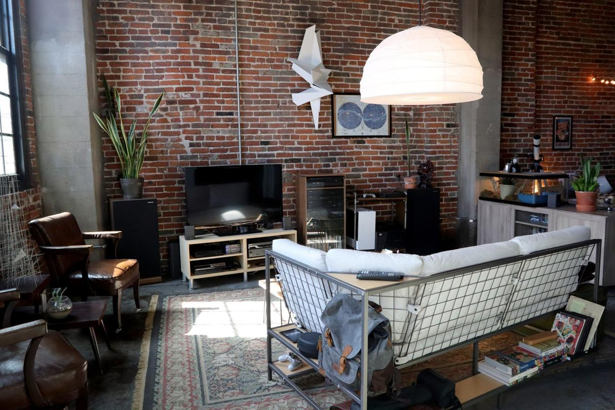 At Home in a Downtown loft