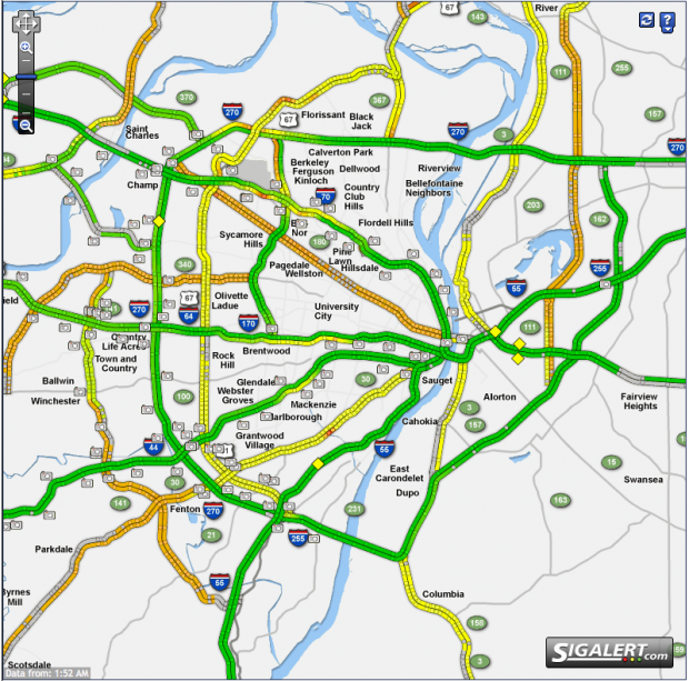 Get real time traffic on all of our major roads | The Editors