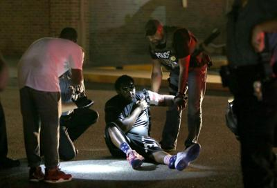 Man shot in arm during protests in Ferguson