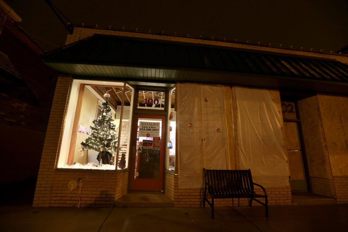 Ferguson cake shop busy catching up after damage
