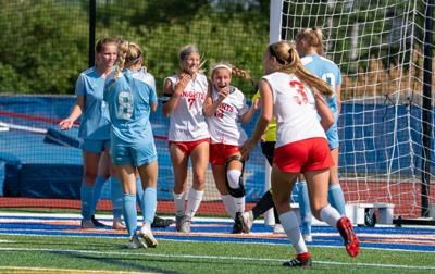 Triad vs. Joliet Catholic girls soccer