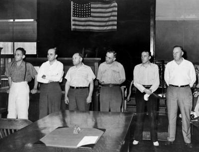 Look Back:  Mob trials, Novemeber 1924