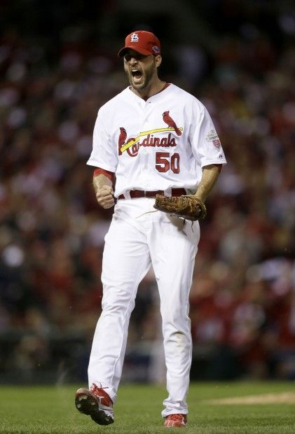 The St. Louis Cardinals vs. the San Francisco Giants in Game 4 of the NLCS