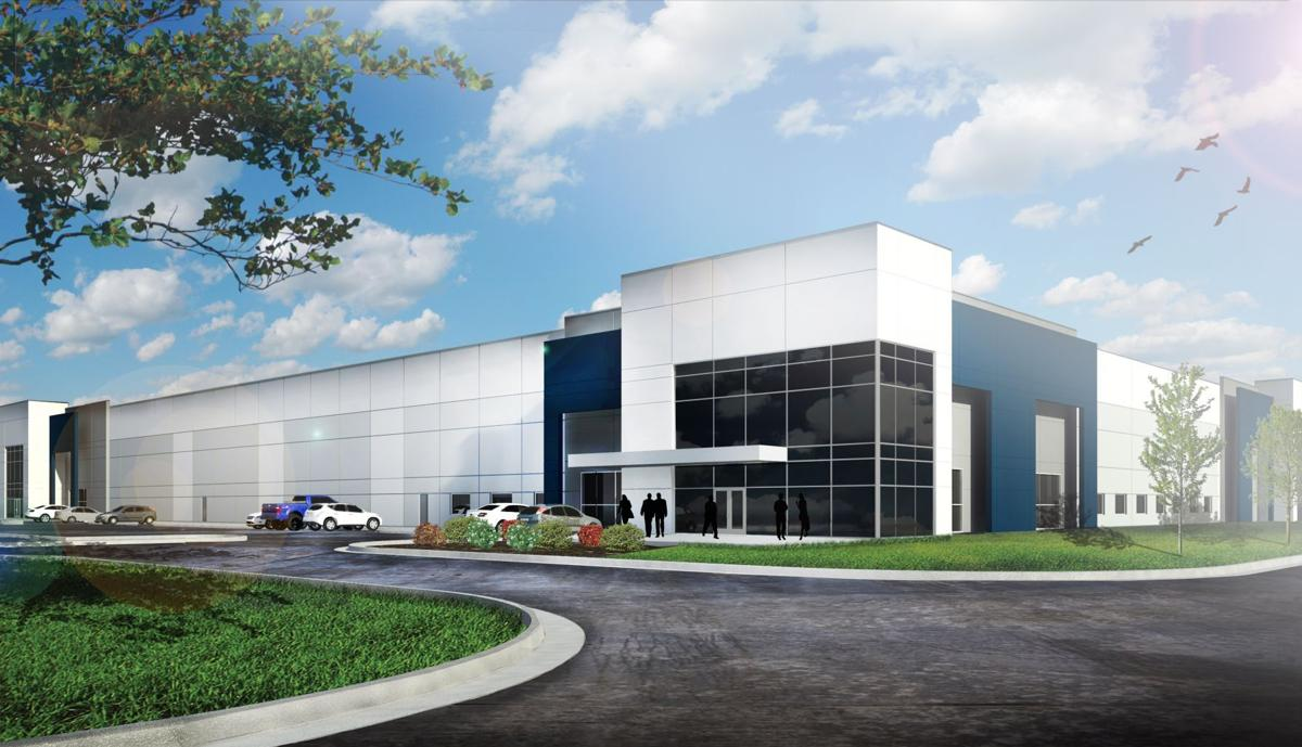 Rendering of new Fenton warehouse