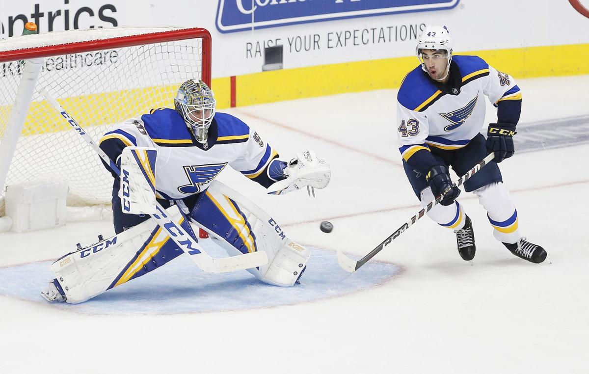 After 7 years in Blues' system, Binnington's big moment comes against Flyers