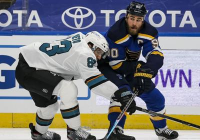 Blues make first home ice appearance
