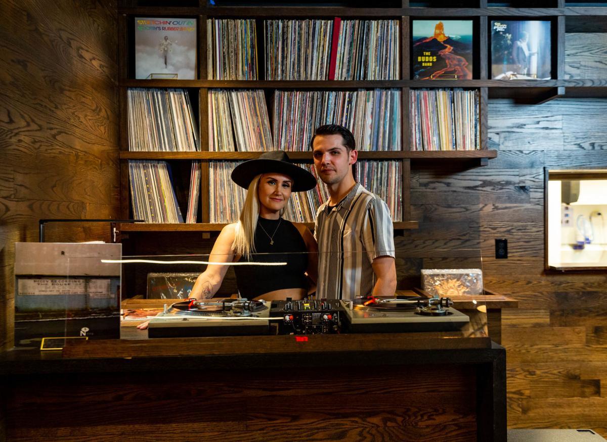 Robbie and Dan Hayden of Takashima Record Bar