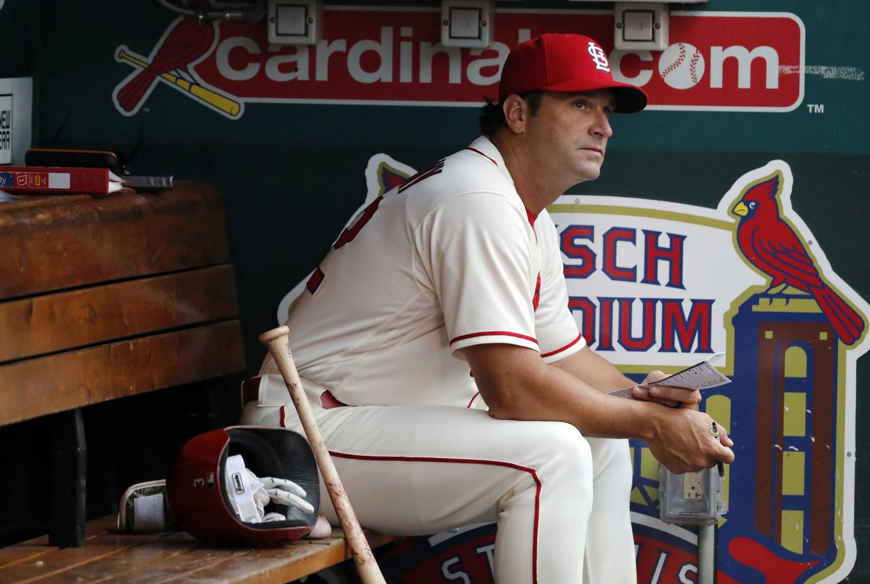 2018: Matheny, before the start of his last game with the team