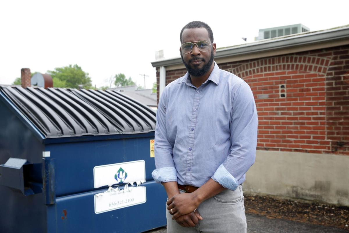 Jonathan Thomas found mail in dumpster behind his business