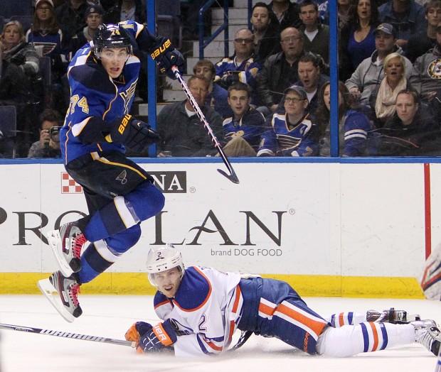 St. Louis Blues v Edmonton Oilers