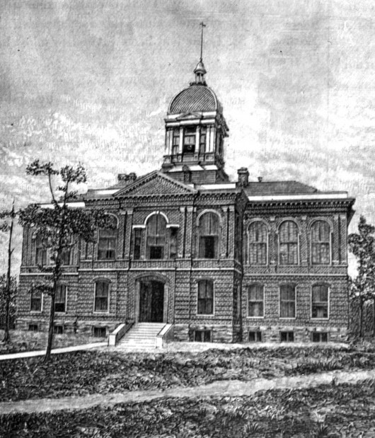 Look Back:  Old County Courthouse, 1878