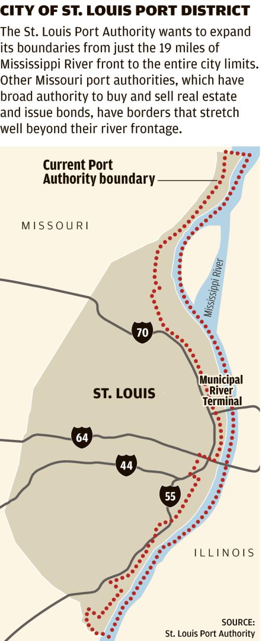City of St. Louis Port District