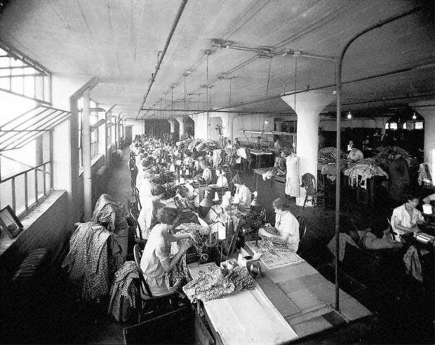 Garment district, 1926