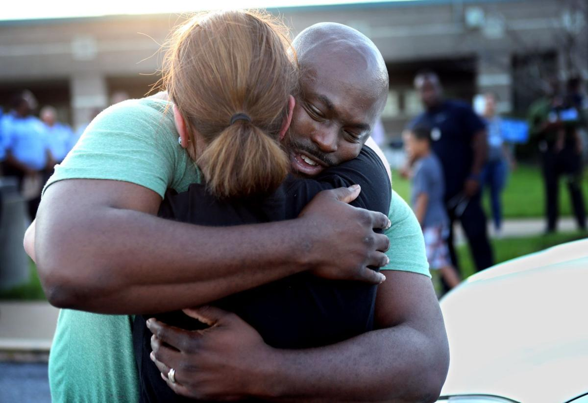 Officer Charles Lowe recovering after being shot