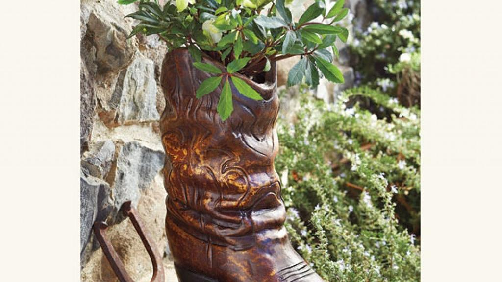 Cowboy Boot Planter 179 For The Large At Napastyle Com