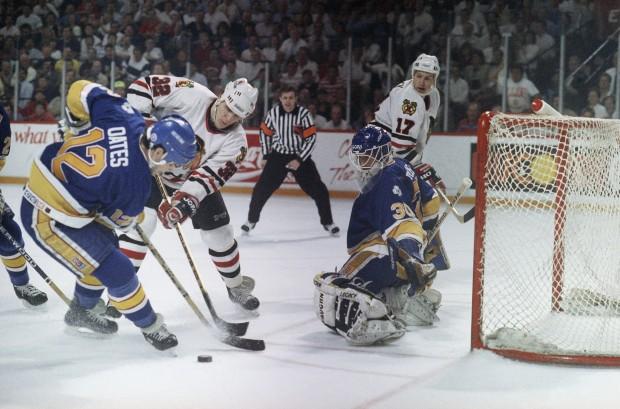Blues vs Balckhawks