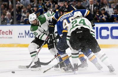 Blues see Stars in the second round of the playoffs