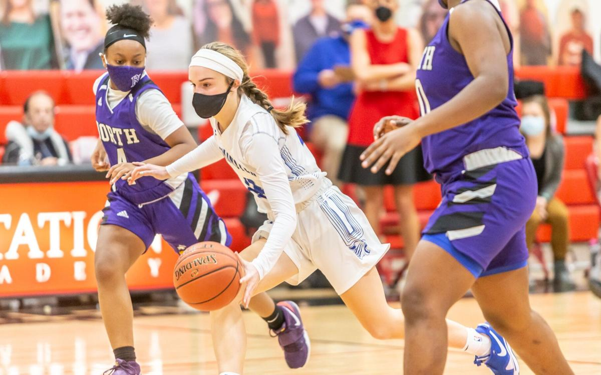 Parkway North vs. Westminster girls basketball