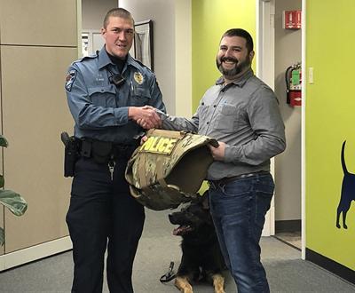 Trouw Nutrition Donates K-9 Ballistic Vest to Troy Police Department