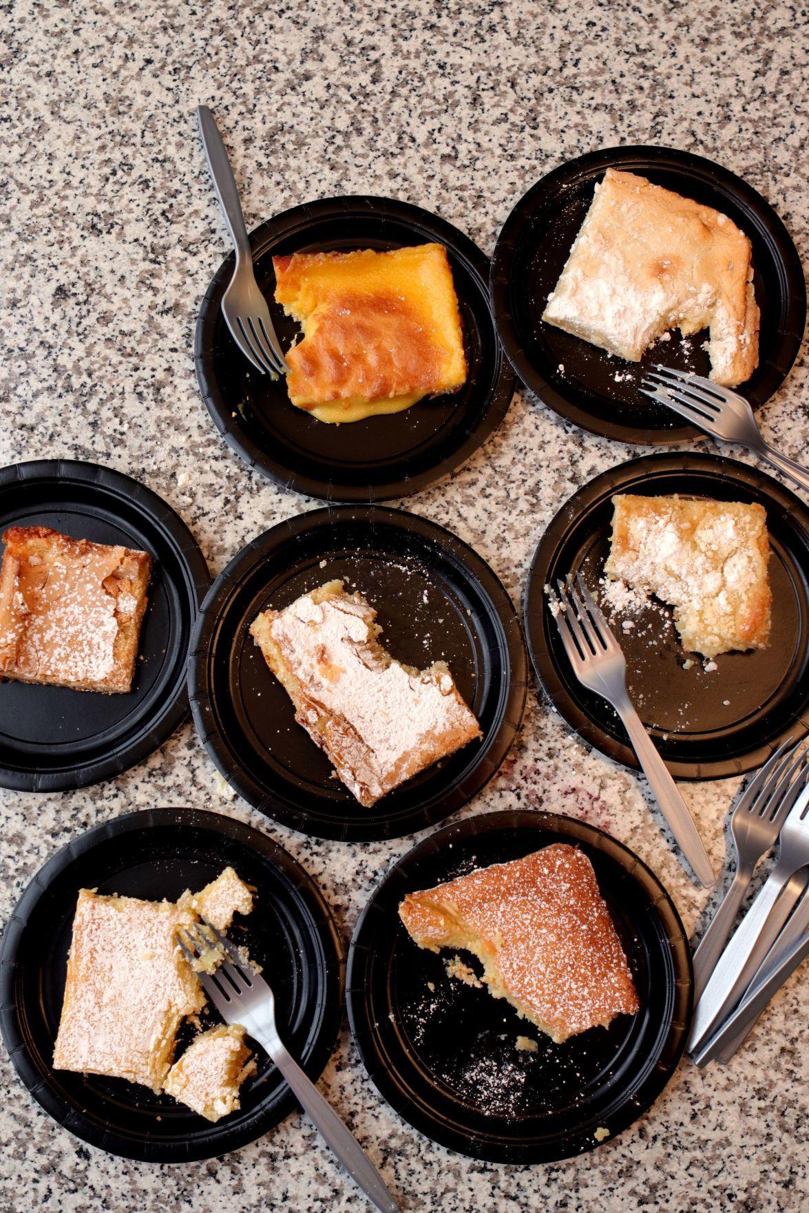 Gooey Butter Cake taste test