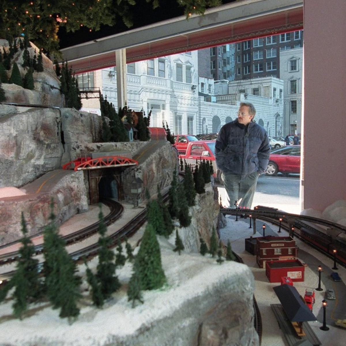 Macy's model-train display in search of