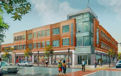Rendering of planned Northgate project