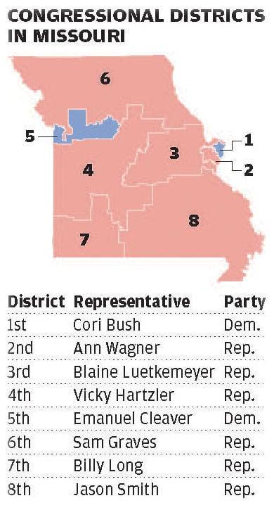 Missouri congressional districts