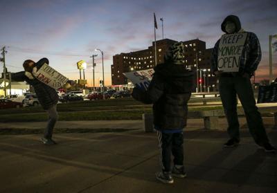 Teachers and staff protest St. Louis public school closures