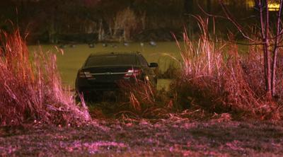 Car rolls into water in Forest Park, driver taken to hospital