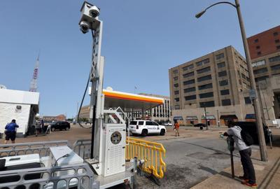 Mobile anti-crime cameras