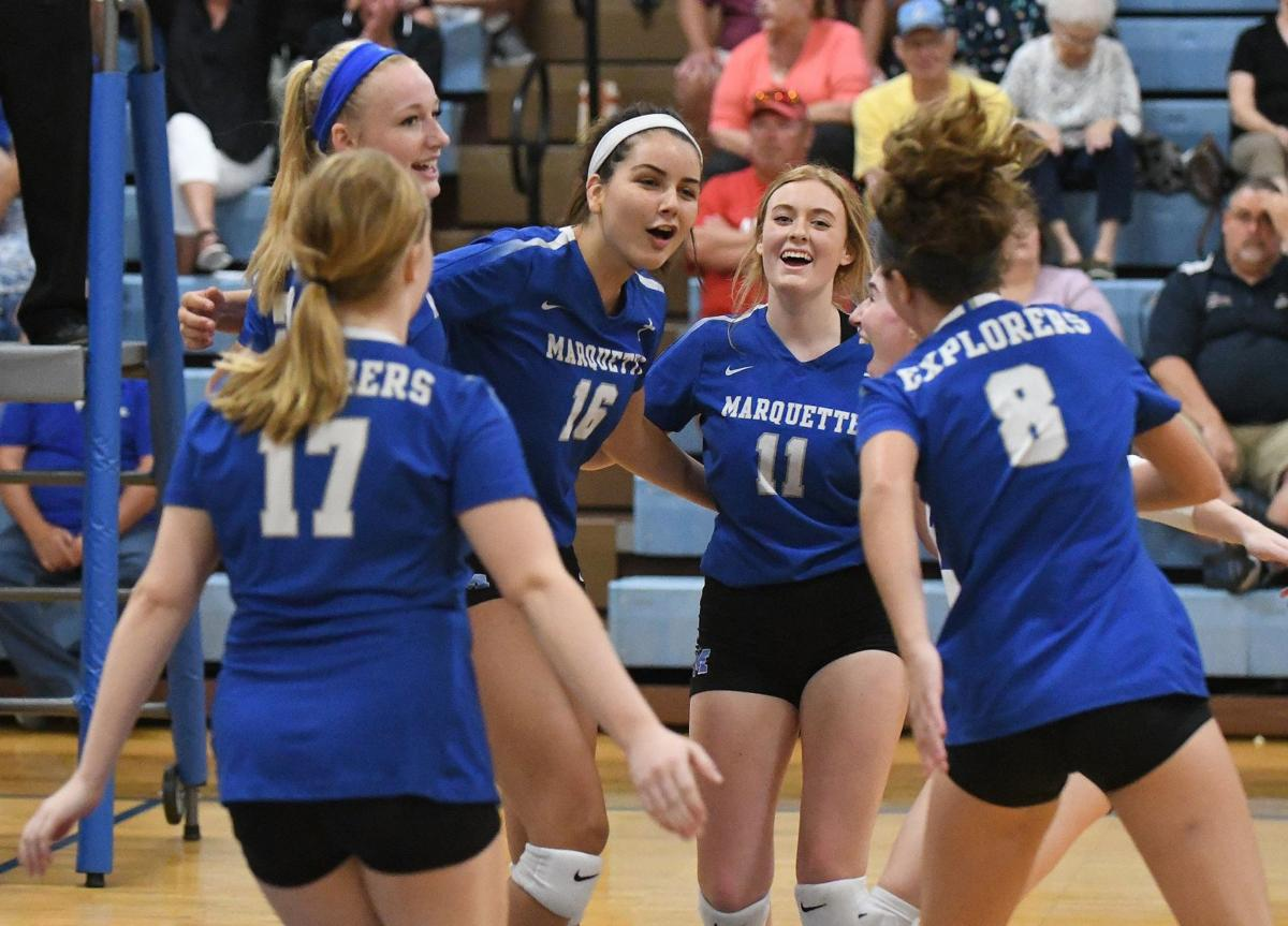 Jerseyville at Alton Marquette Volleyball