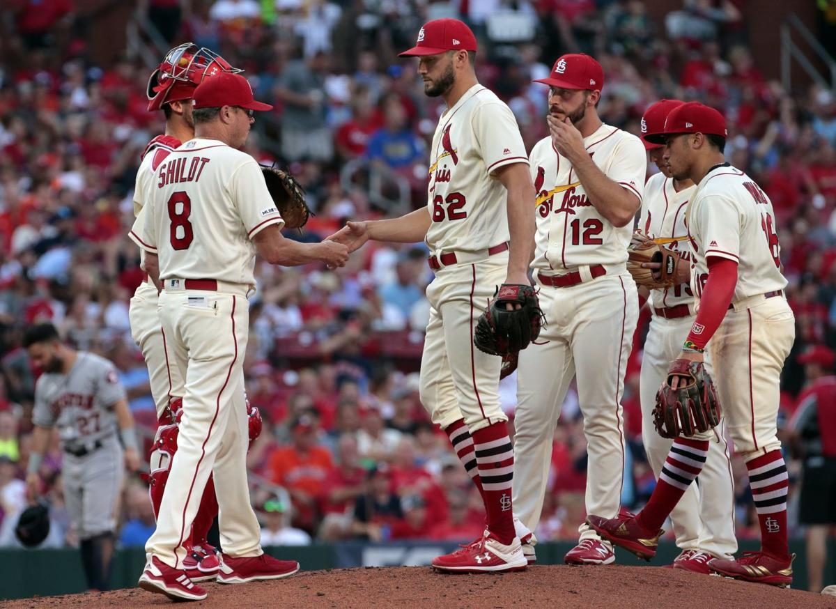 Cardinals host Astros at Busch