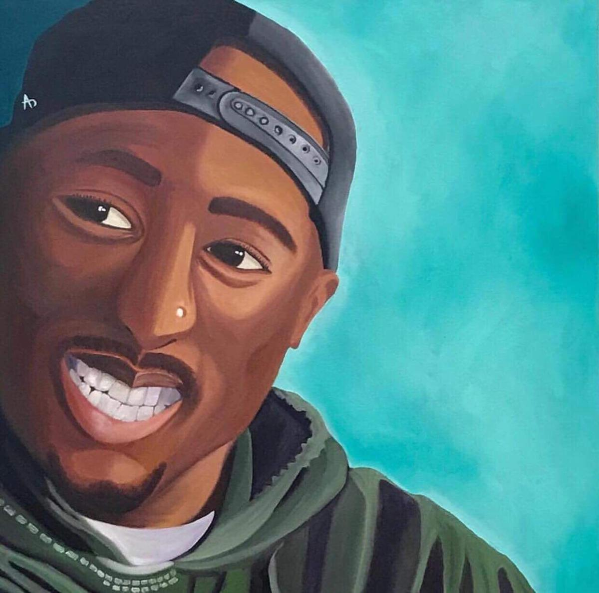 Tupac Shakur Gets A Full Scale Tribute With Art Music And Poetry At