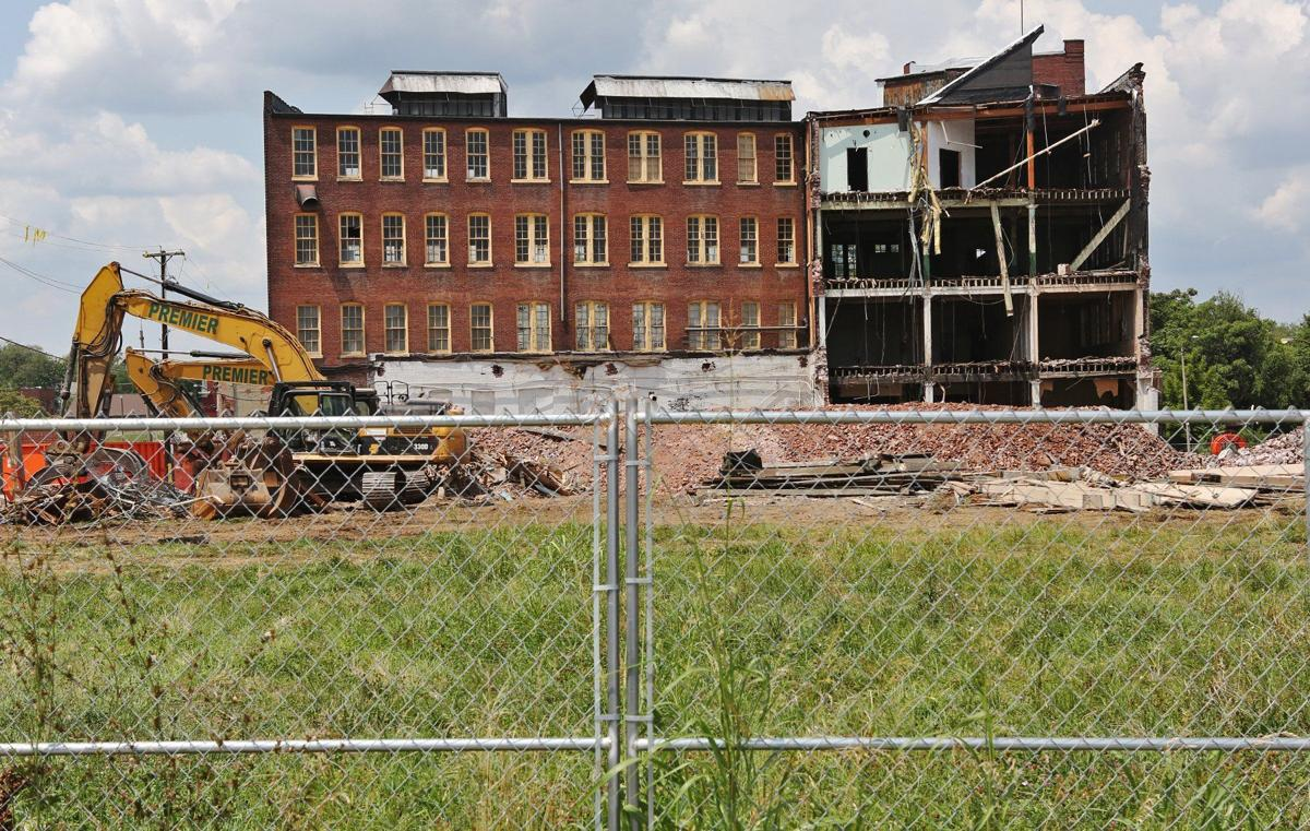 Historic Brown Shoe Co. Building Coming Down