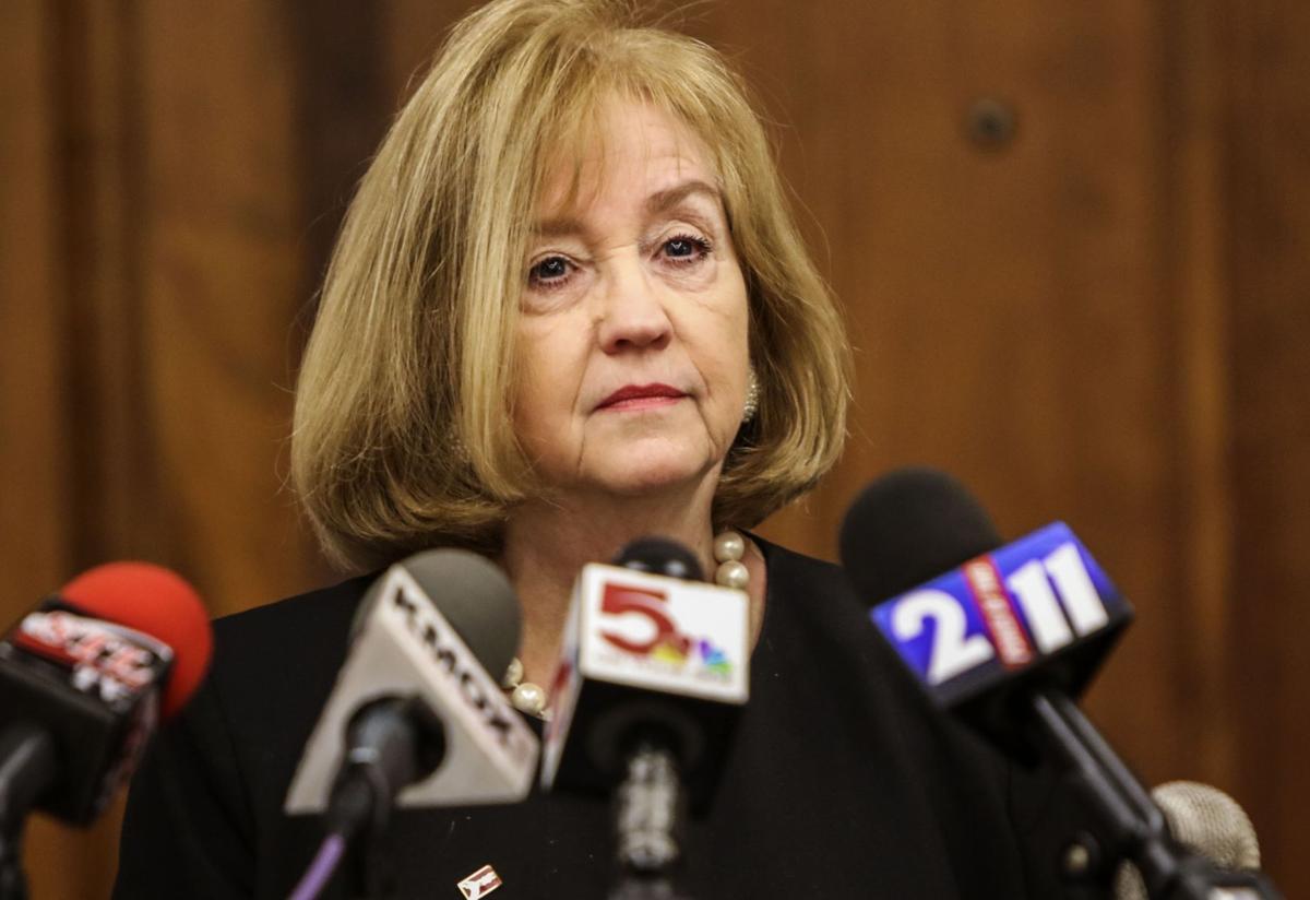 Mayor Krewson announces retirement at City Hall