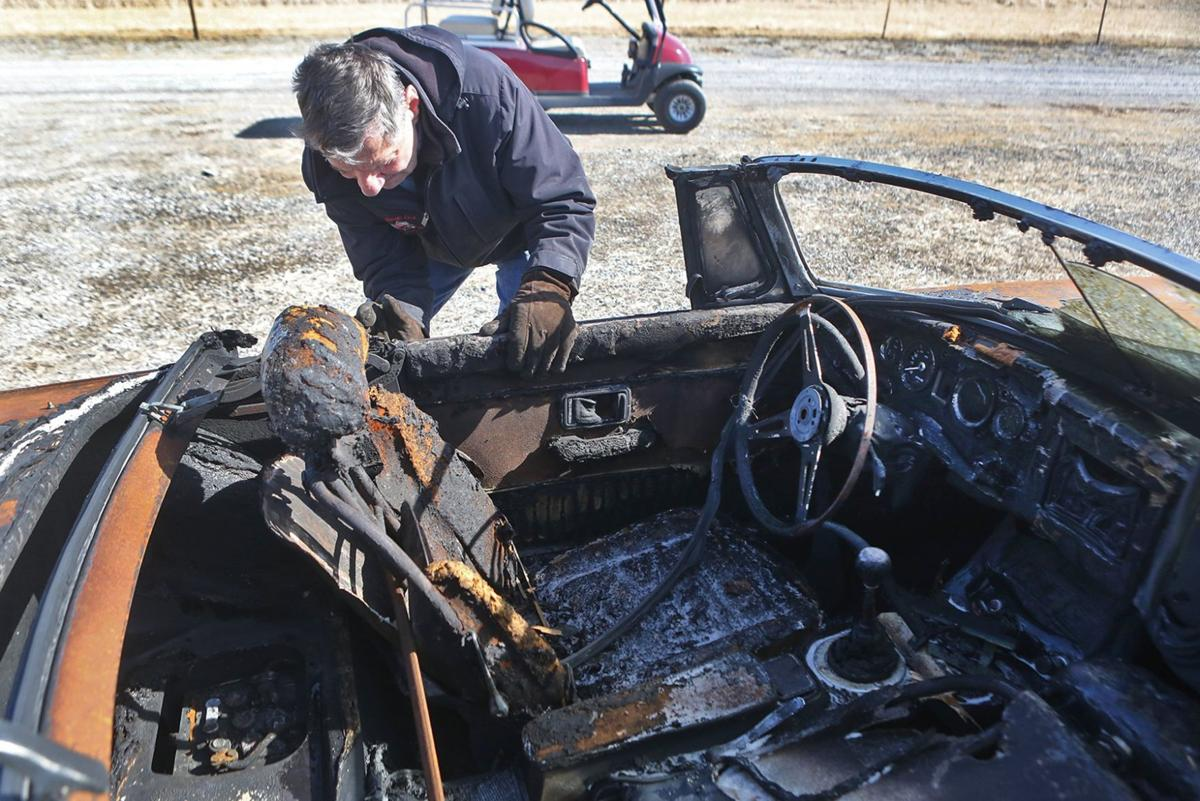 Illinois classic car business off Route 66 rises from the ashes of ...