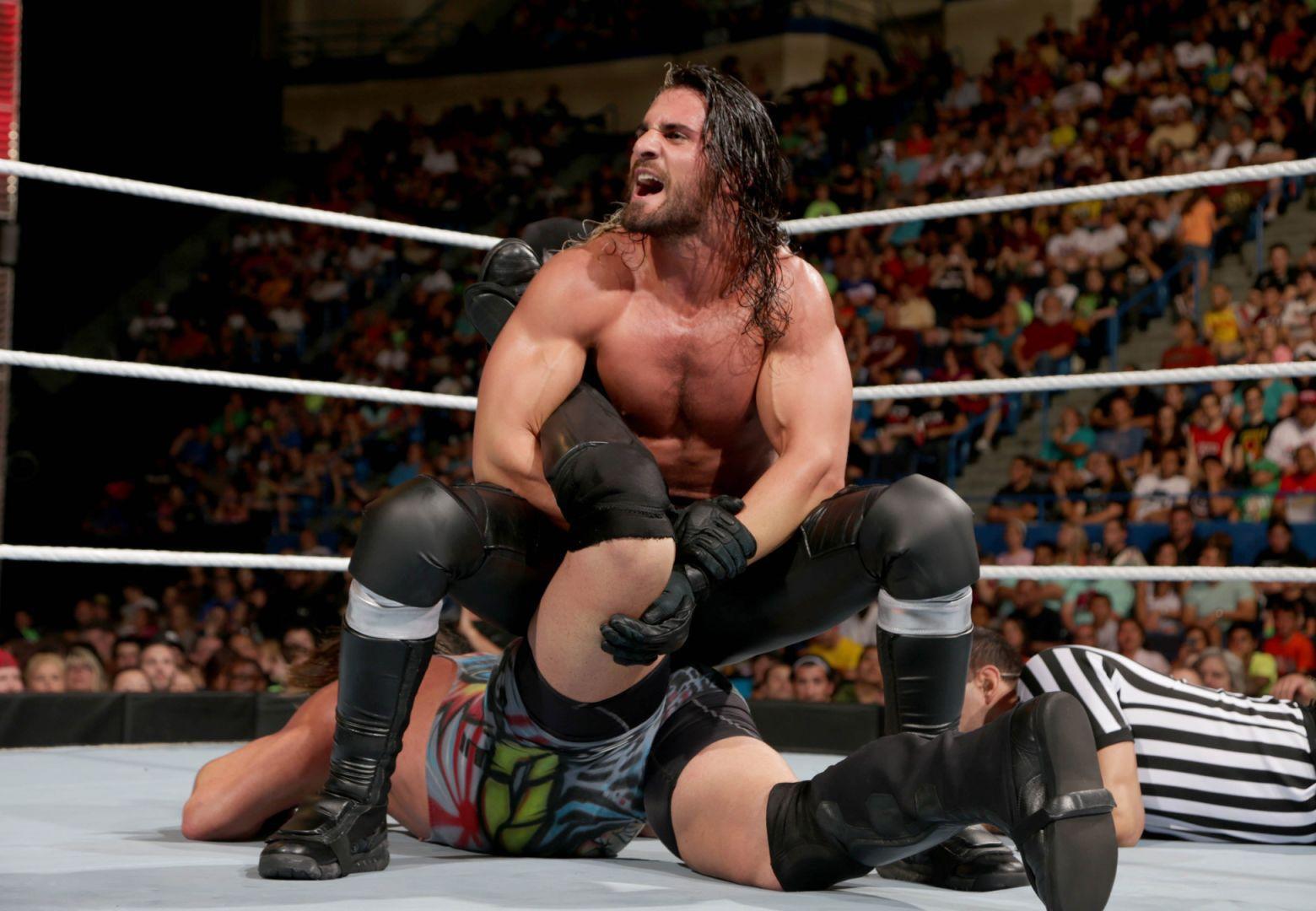 Friday nite wrestle twenty one muscle beef wrestling