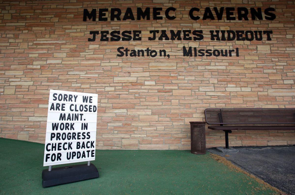 Meramec Caverns closed to public