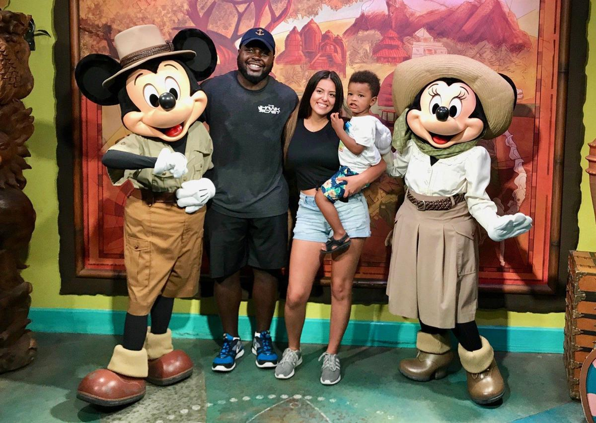 Montee Ball and family