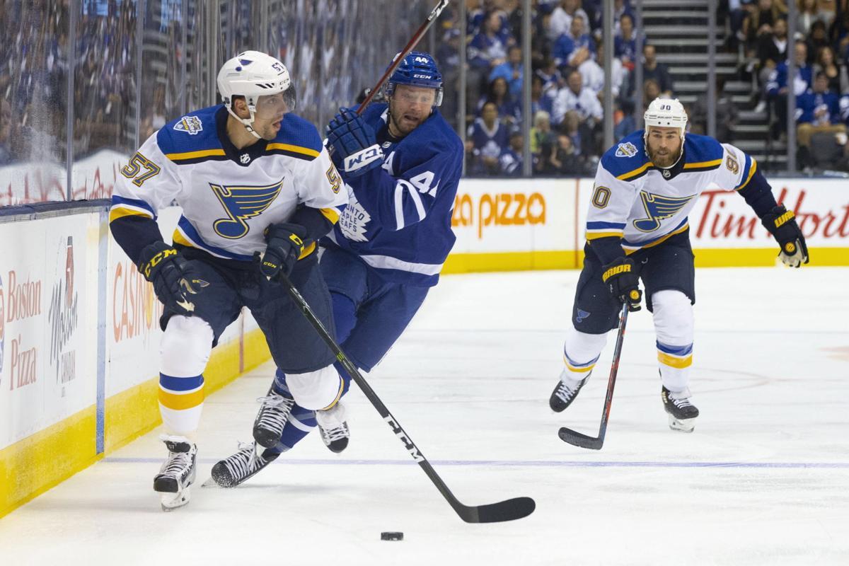 Blues Maple Leafs Hockey