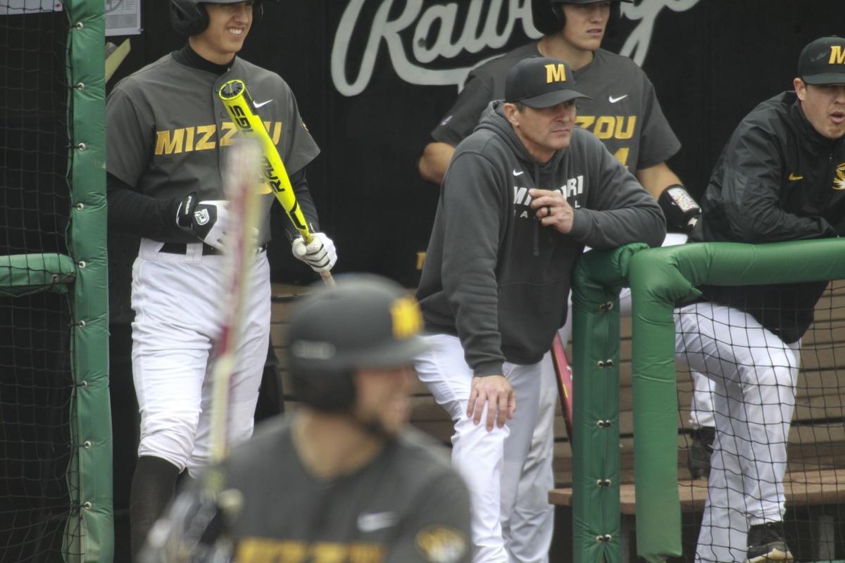 Missouri baseball's Steve Bieser