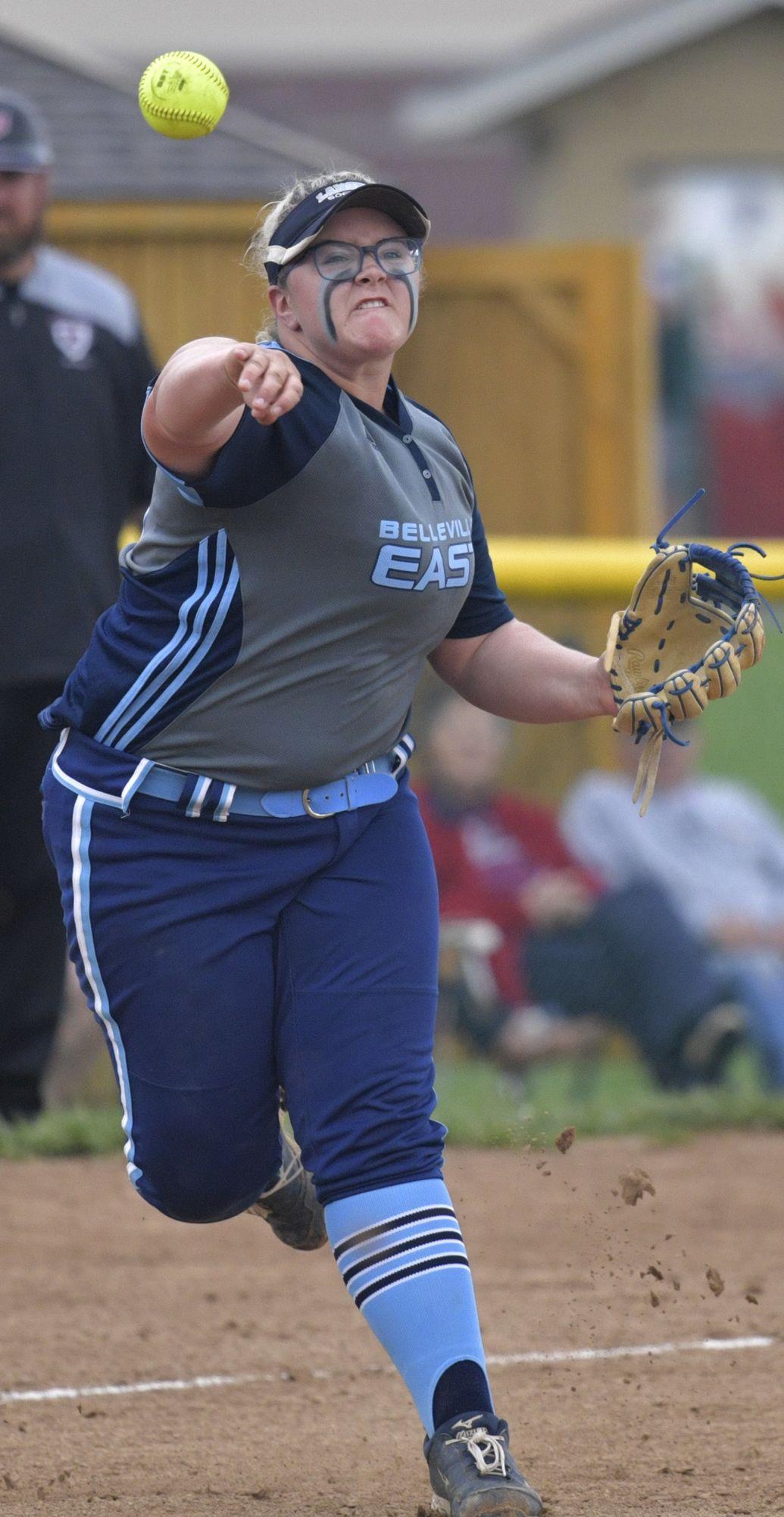 Belleville East vs Belleville West softball