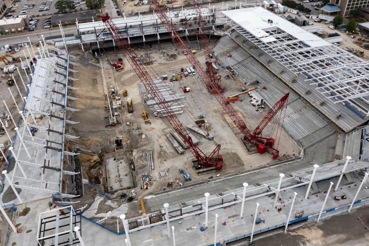 Construction continues on MLS stadium