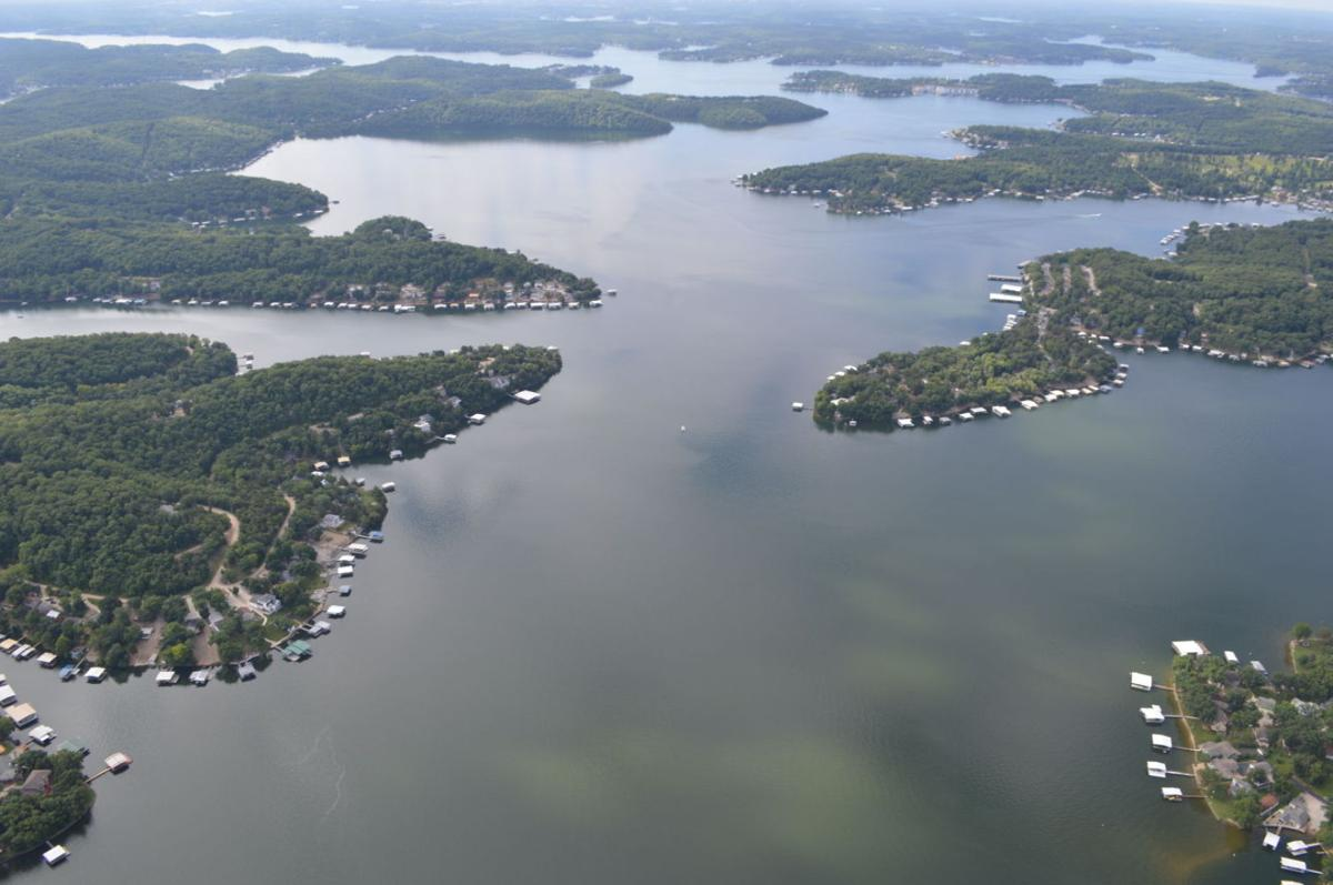 Aerial image of Lake of the Ozarks