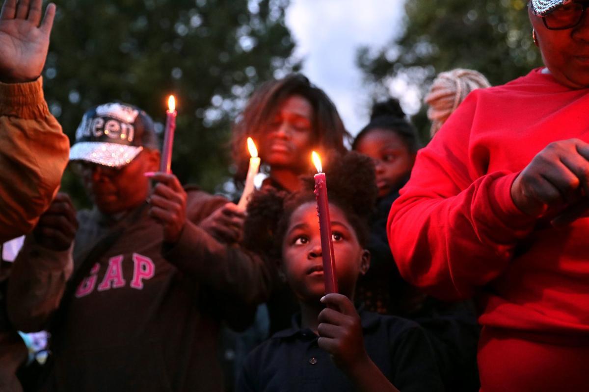 """Vigil for Akeelah """"Kee Kee"""" Jackson"""